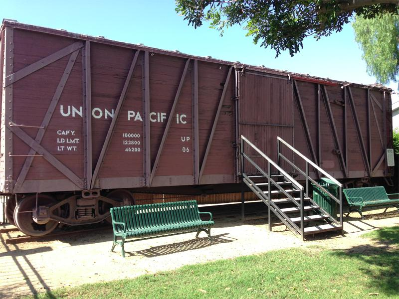 1913 Southern Pacific Outside-Braced Wooden Boxcar