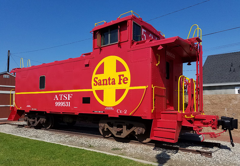 Atchison, Topeka and Santa Fe Caboose