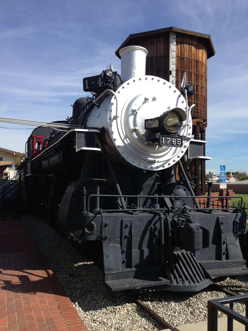 1902 Southern Pacific Steam Locomotive