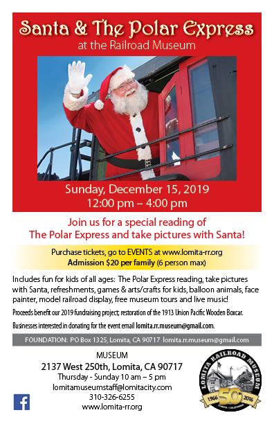 Santa and the Polar Express 2019